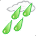 It is forcast to be Rain at 9:00 PM EEST on October 25, 2014