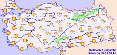 Sabah Yurtta Hava