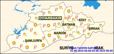 Diyarbakır'da Bugün