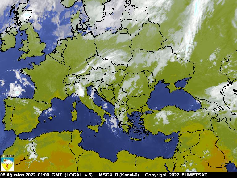 Satellite Picture: INFRARED / EUROPE
