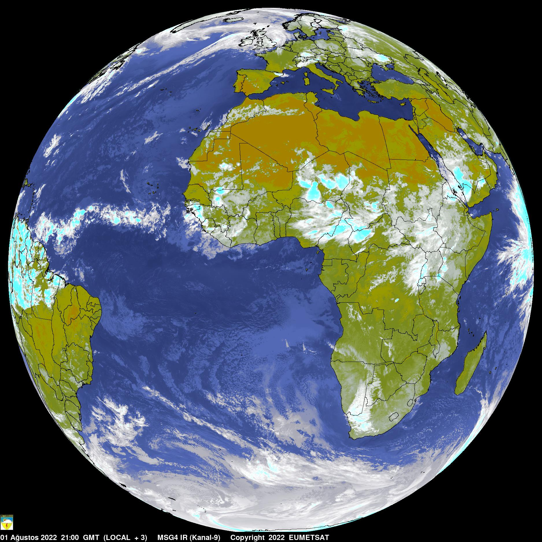 Satellite Picture: INFRARED / WORLD