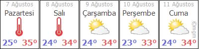 AdanaFekeİncirci hava durumu