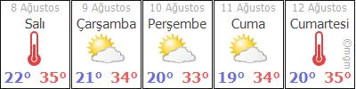 AdanaPozantıKamışlı hava durumu